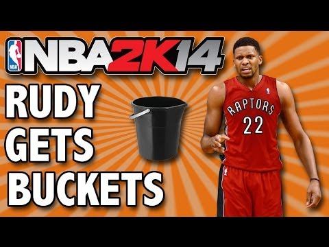NBA 2K14 - MyTEAM | RUDY GETS BUCKETS! | First Game w/ New Players | EP6