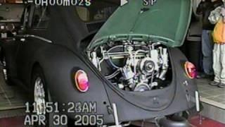 2332cc VW Bug Dyno Clip
