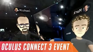 Oculus Connect 3 in six minutes