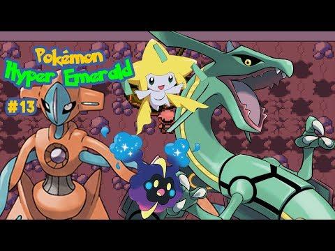Pokémon Hyper Emerald 807 #13: Weather Trio, Deoxys, Jirachi e Cosmog