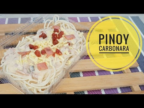 Pinoy Carbonara | how to make Carbonara (Pinoy Style)