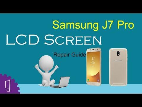 Samsung J7 Pro LCD Screen Repair Guide
