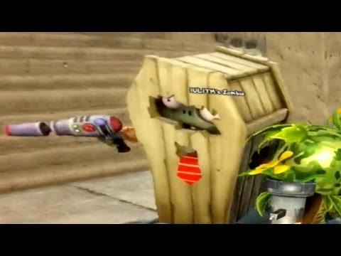 PVZ Garden Warfare - Coffin Zombie Secret GUN