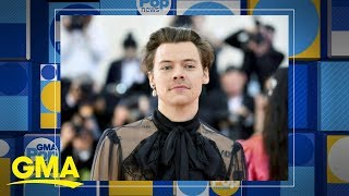 Harry Styles releases new song 'Lights Out' l GMA