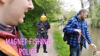 Police and Magnet Fishing !!WHAT !!!!