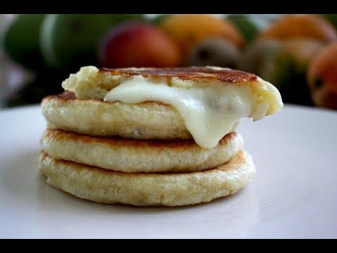 Korean Stuffed Cheese Pancake Hotteok 호떡