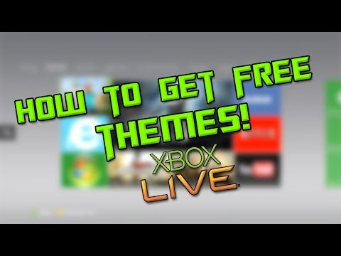 How to Get FREE XBOX LIVE Themes [Tutorial] 2014