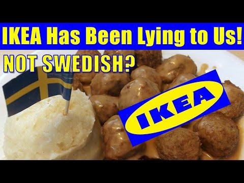 Ikea Meatballs! Not Swedish? Ikea Has been lying to us!