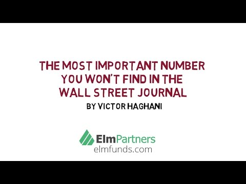 The Most Important Number You Won't Find in the Wall Street Journal