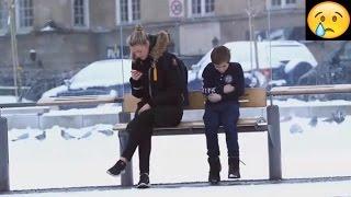تجربة اجتماعية هل سوف تساعد طفل يتجمد من البرودة في الشارع ؟ مترجم | would you help a freezing kid