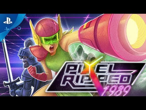 Pixel Ripped 1989 - Gameplay Trailer | PS VR