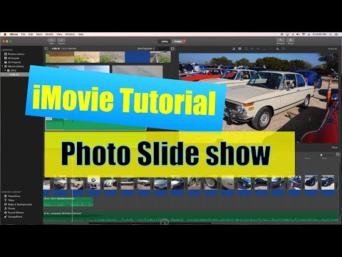 iMovie Slideshow Tutorial with Voiceover and Music