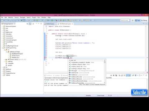 GCD between three numbers in java programming