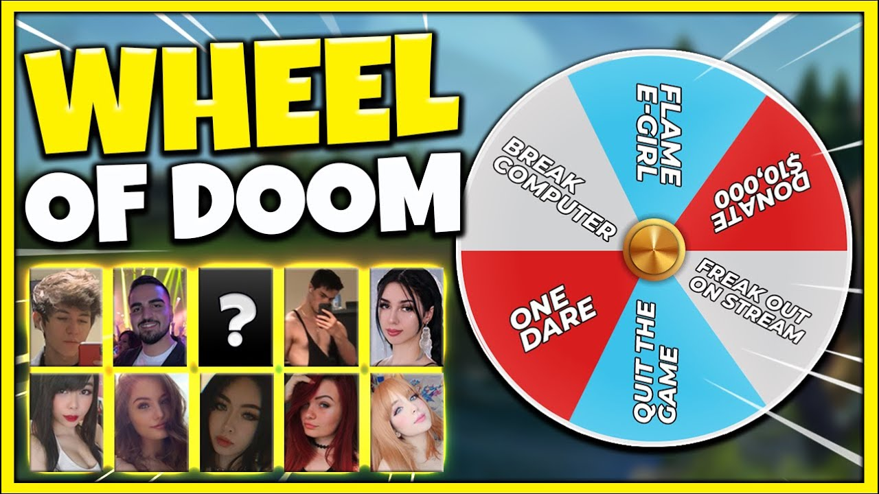 *ONE LOSS=ONE SPIN* THE ULTIMATE LEAGUE CHALLENGE WHEEL (10 STREAMER POVS) - League of Legends