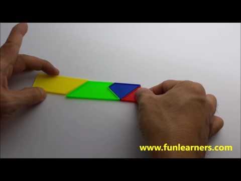 4 pieces tangram