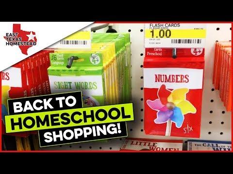 Inexpensive Homeschool Back to School Supplies for Preschoolers and Elementary Kids