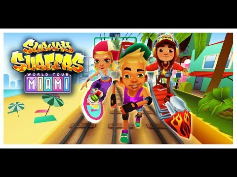 UNLIMITED COINS AND KEYS IN SUBWAY SURFER MIAMI (NO ROOT)