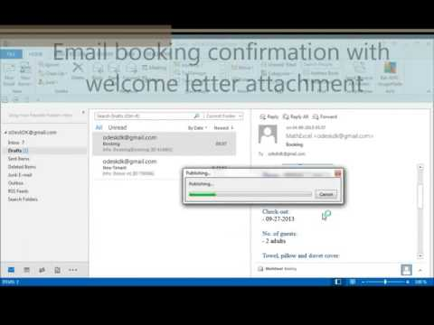 Outlook Excel automation: pdf email attachment from template, user input and received email