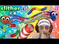 SLITHERio 4 CRAZY GAME GLITCH After MAJOR FREEZE LAG FGTEEV Duddy Is Finding Dory More