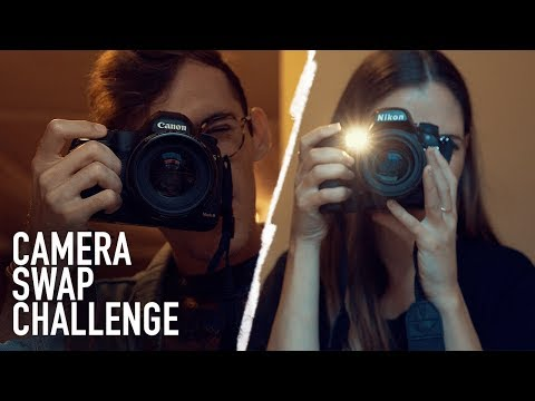 SWITCHING CAMERAS CHALLENGE with BRANDON WOELFEL