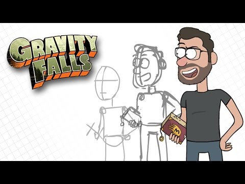 Gravity Falls Drawing Style Tutorial