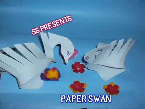 How to make Paper Swan