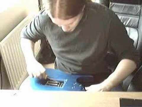 Floyd Rose Guitar Tremolo Setup + String Gauge Change Pt2