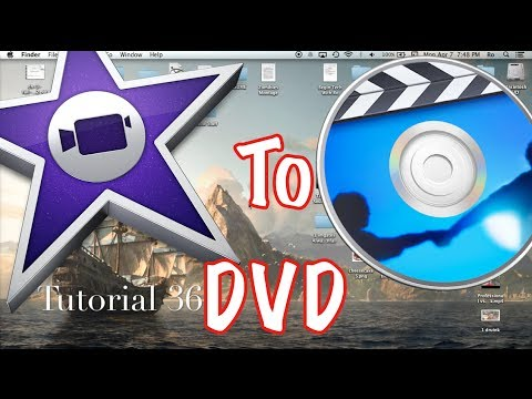 Create a DVD Through iDVD and iMovie 10.0.2 | Tutorial 36