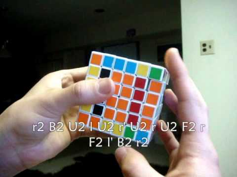 How To Solve a 6x6x6 V-Cube 6 - Part 3 - Edge Pairing