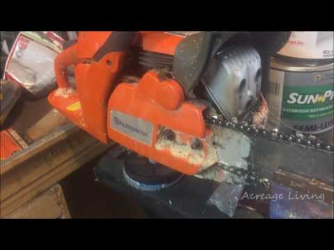 Chainsaw Chain Will Not Move? CHECK THIS OUT!
