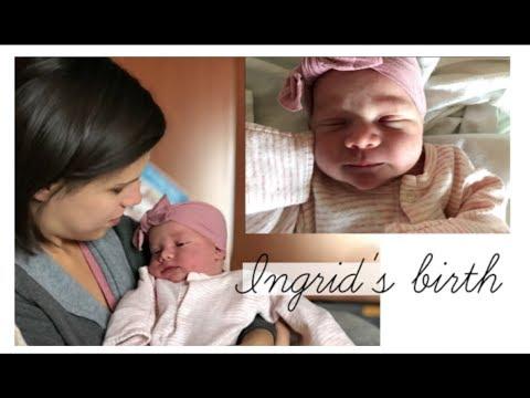 INGRID'S NATURAL BIRTH AT 41 WEEKS & MEETING HER SIBLINGS