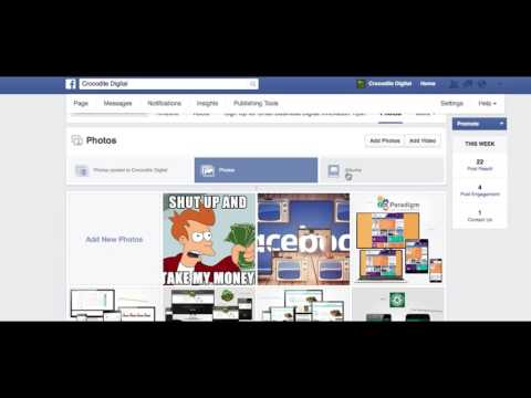 How To Create a Facebook Album for Your Business Page