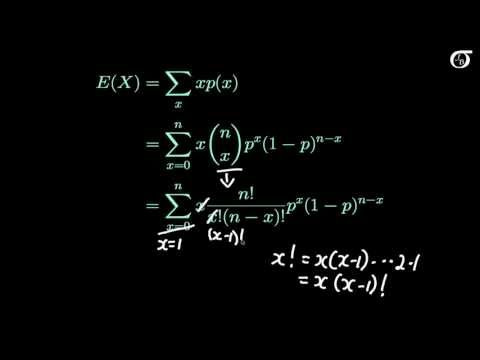 The Binomial Distribution: Mathematically Deriving the Mean and Variance