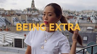 Being Extra During Paris Fashion Week | Aimee Song