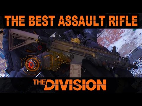 The Best Assault Rifle in The Division for Damage & Control