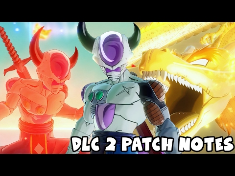 FREE DLC Pack 2 PATCH NOTES! Attacks Nerfed & Buffed | Dragon Ball Xenoverse 2