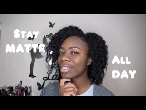 Stay MATTE all day with or without makeup| Super simple trick