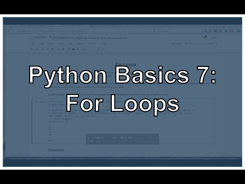 Python For Loops
