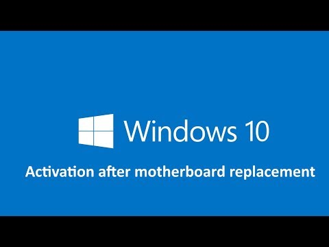 Windows 10 activation with Motherboard replacement | TechDragon.info