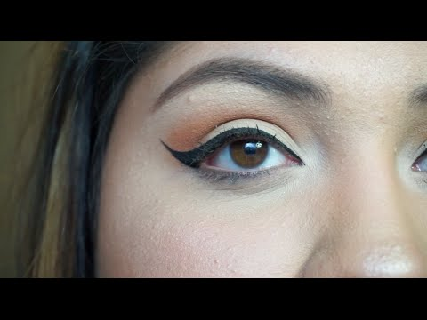 How to Winged liner & Lashes Talk Through Tutorial 2016 | Beautybyveroo