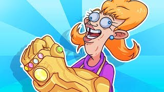 YO MAMA SO STUPID! Thanos Snap - Avengers: Infinity War