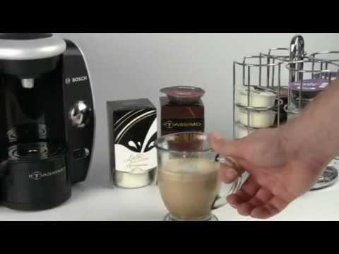 Tassimo Latte - Using Tassimo Coffee Maker