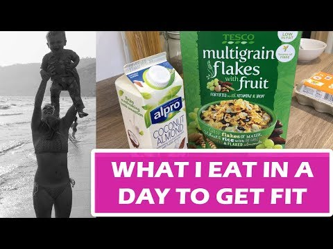 WHAT I EAT IN A DAY TO GET FIT | WEDDING DIET