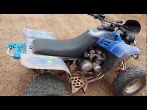 99 yamaha warrior/ kawasaki 650 street bike motor.. Fast ATV