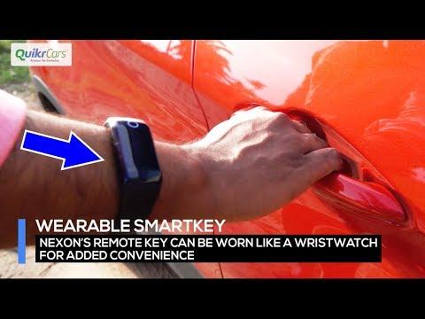 5 fantastic features of Tata Nexon | Wristband to unlock the car