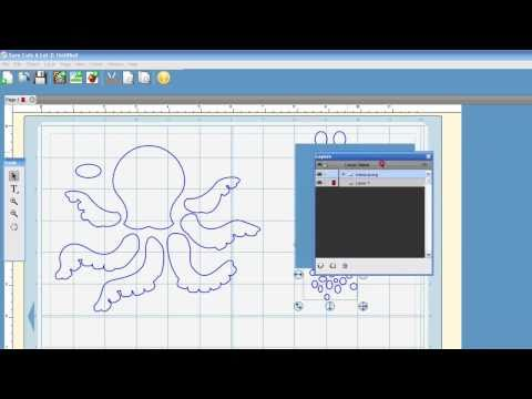 New Feature for SCAL 2 Importing SVG's for Cricut Machine