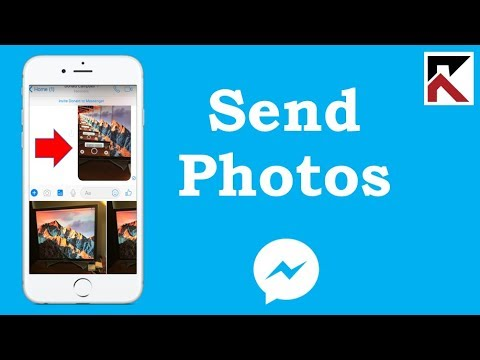 How To Send A Photo In Facebook Messenger iPhone