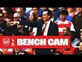 BENCH CAM North London Derby Special Arsenal 2 2 Tottenham Hotspur