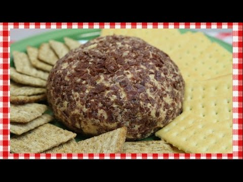 Beefy Monterey Jack Cheese Ball ~ Holiday Party Cheese Ball Recipe ~ Noreen's Kitchen
