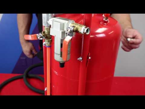 Setting up the BAVauto® Media Blaster for Walnut Blast on BMW and MINI turbo engines